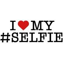 funny-i-love-my-selfie-selfie-instagram-heart-womens-premium-t-shirt